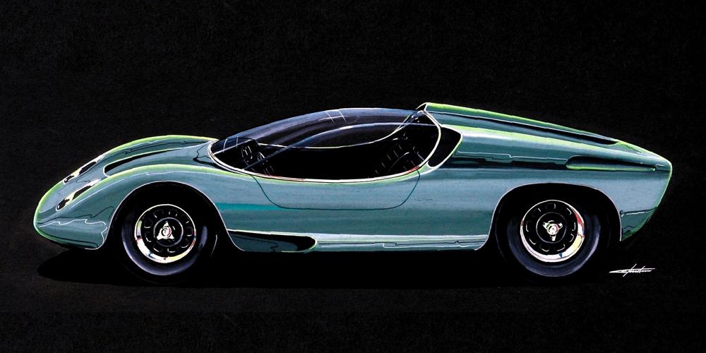 Abarth 2000 Pininfarina (1969)