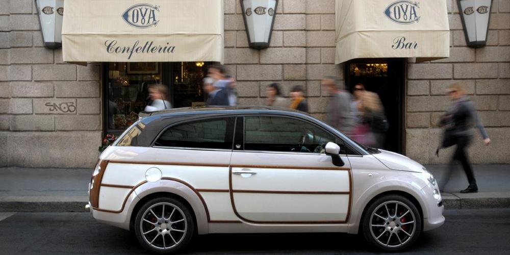 Fiat 500 Woody Wagon (2011)