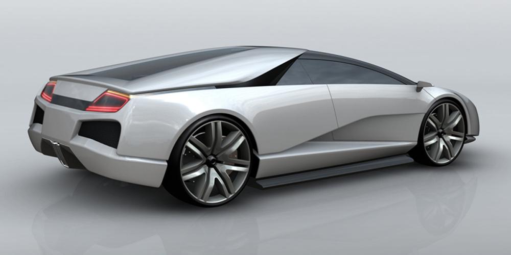 Lamborghini one-off Bonetto Design (2008)