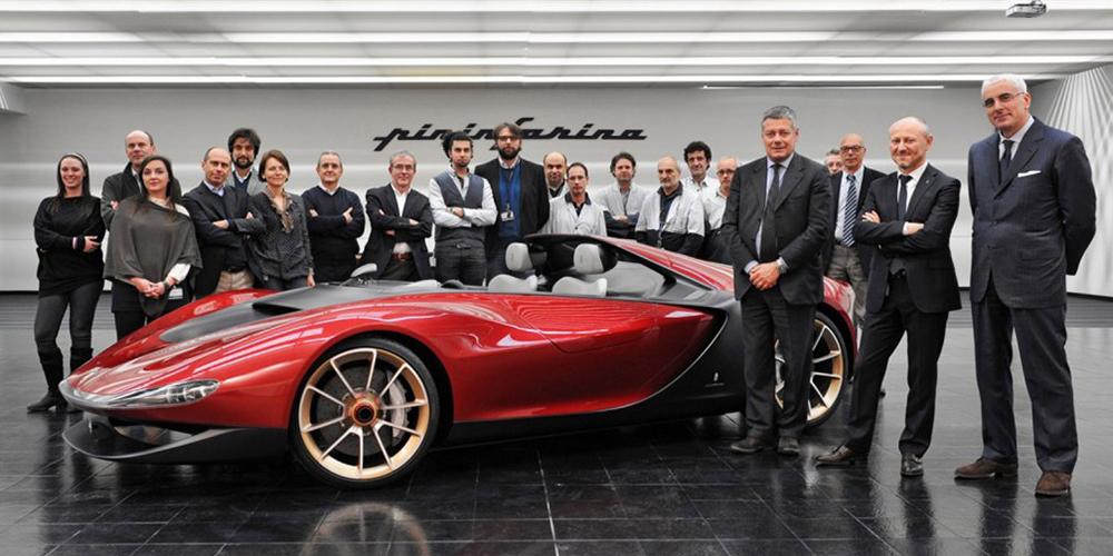 Pininfarina Sergio design team (2013)