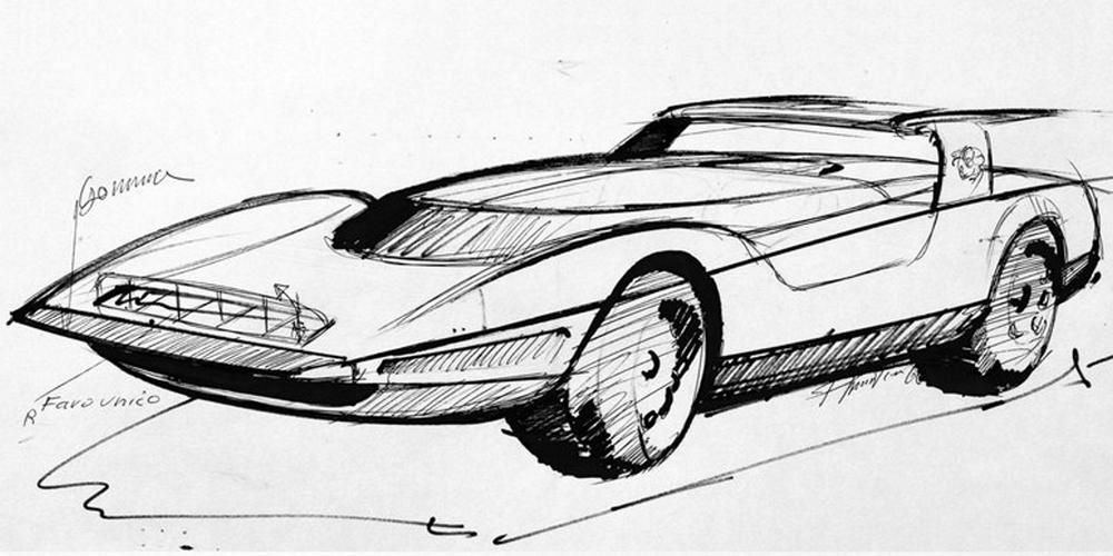 Alfa Romeo P33 Roadster (1968)