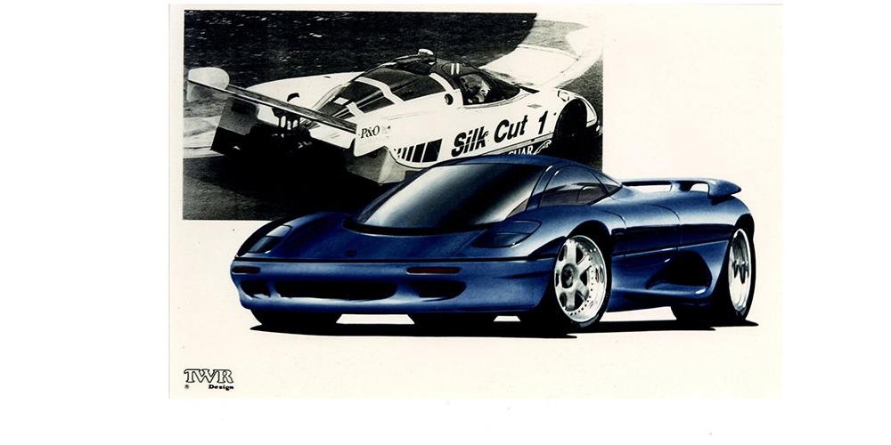 Jaguar XJR–15 (1990)